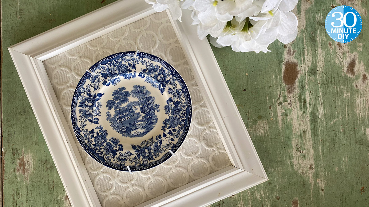 Creative Living: Frame a Plate With Panache