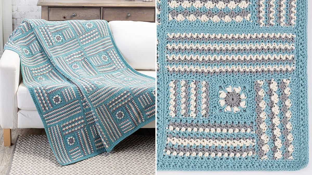 Learn, Make, Create!: Textured Blocks Throw