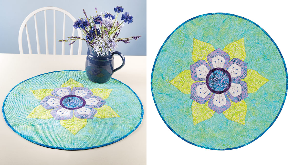 Learn, Make, Create!: Lotus Blossom Table Topper