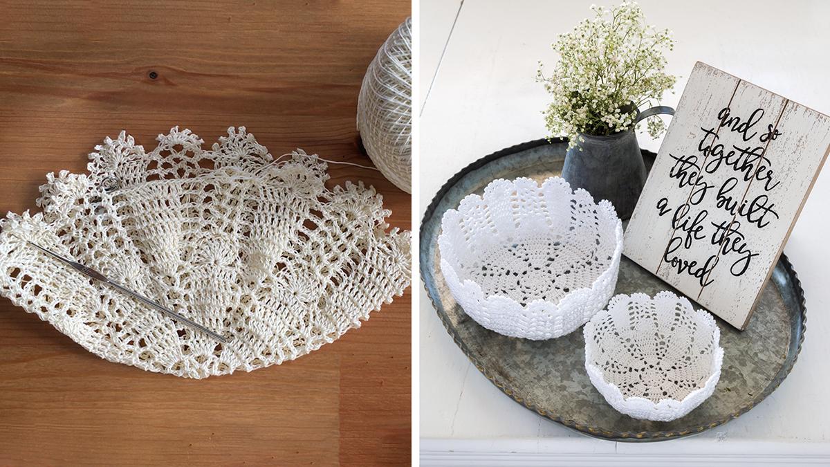 Learn, Make, Create!: Decorative Crochet Bowls