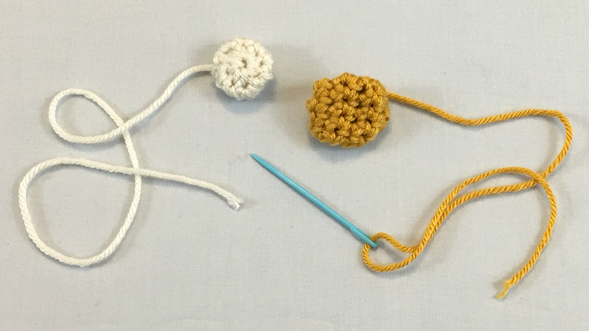 Quick Stitches & Tips: How to Crochet Round Buttons