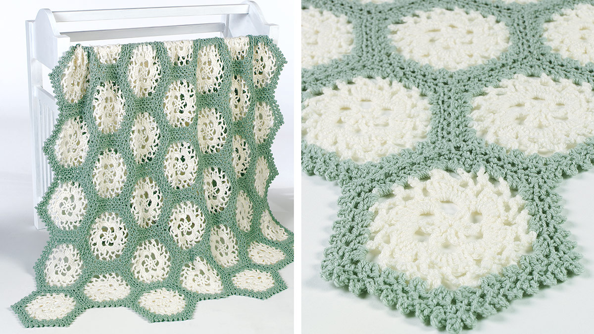 Learn, Make, Create!: Pinwheel Lace Afghan
