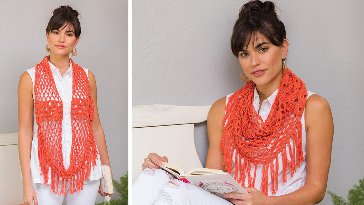 Learn, Make, Create!: Sweet Citrus Infinity Scarf