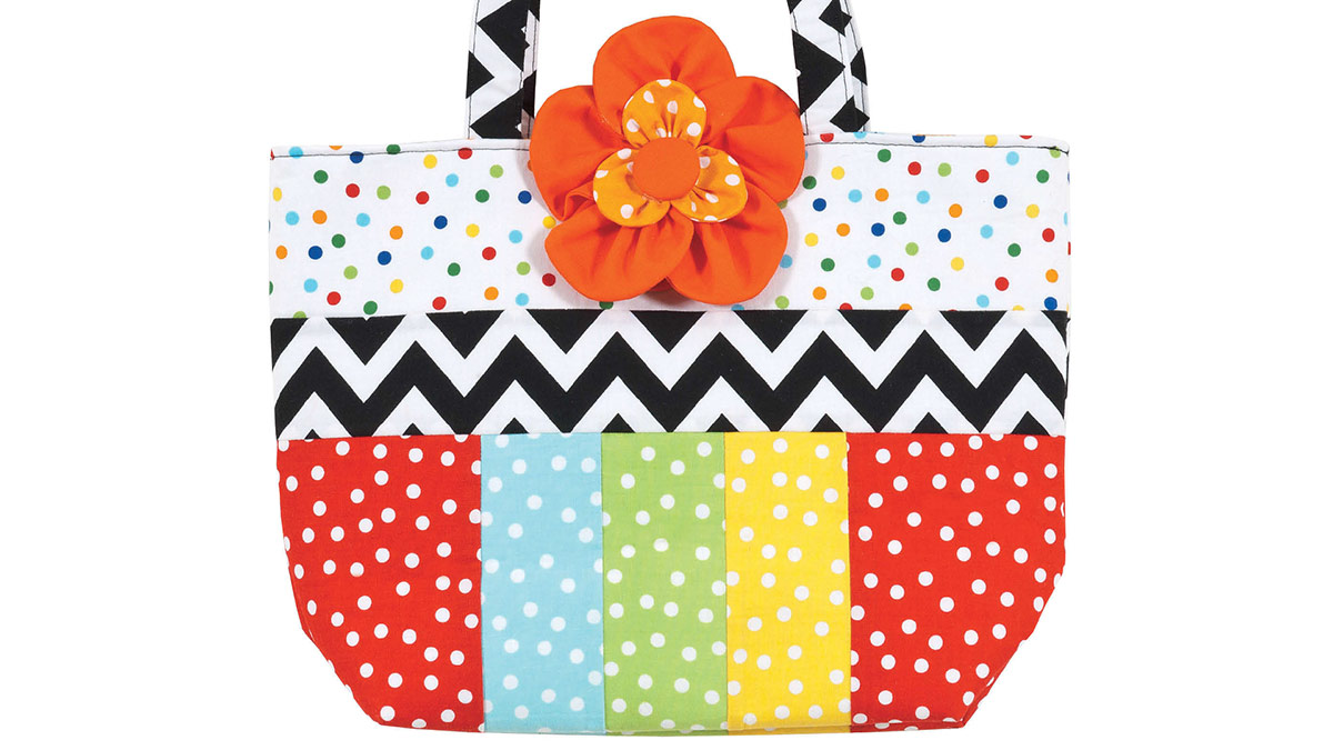 Learn, Make, Create!: Flower Pop Tote