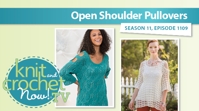 Knit and Crochet Now!: Open Shoulder Pullovers
