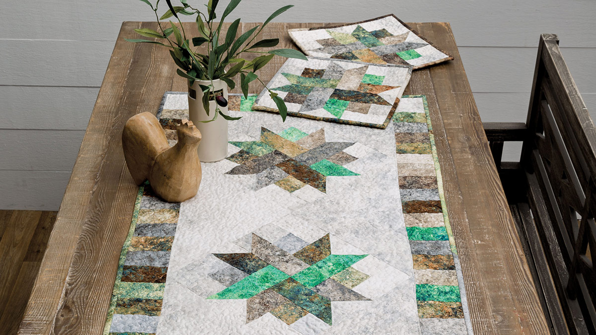 Learn, Make, Create!: Nature's Patchwork Table Set