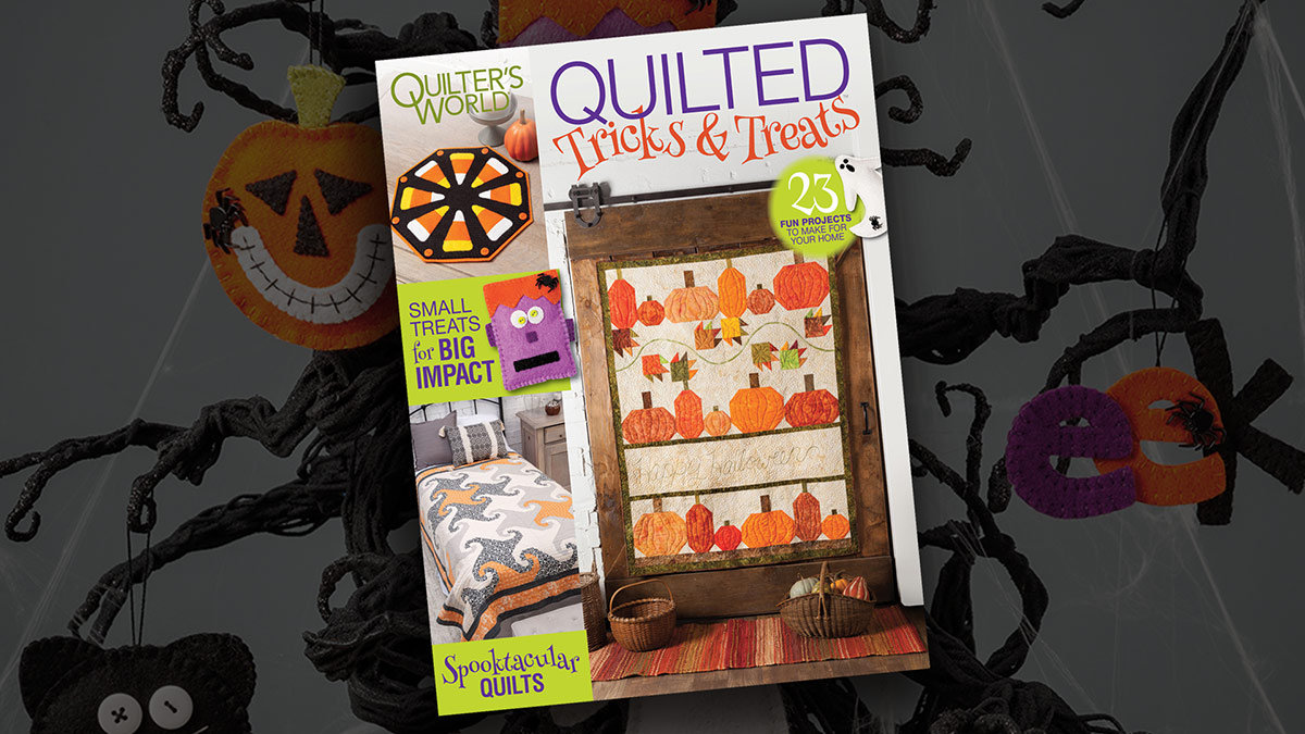 Products We Love: Quilted Tricks & Treats