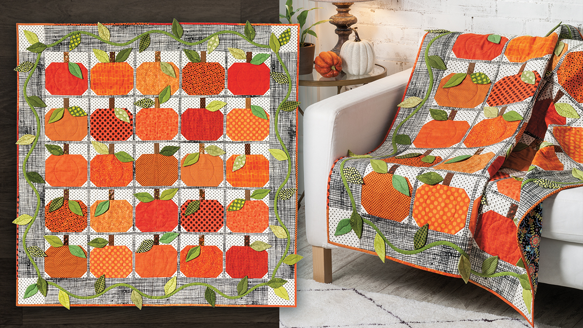 Learn, Make, Create!: Pumpkin Harvest Quilt