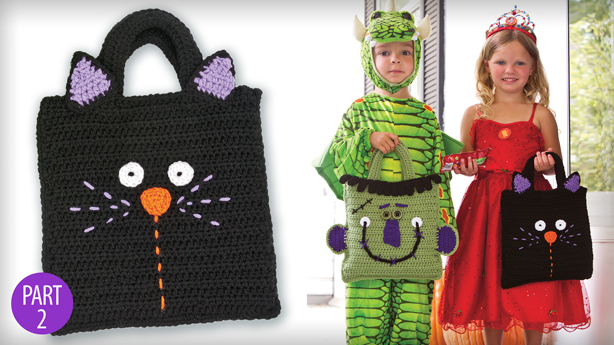 Learn, Make, Create!: Baby Frankie & Scaredy Cat Treat Bags: Part 2