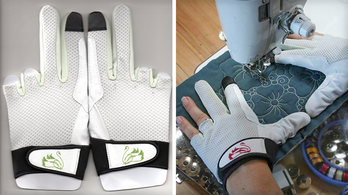Products We Love: Machine Quilting Amity Gloves