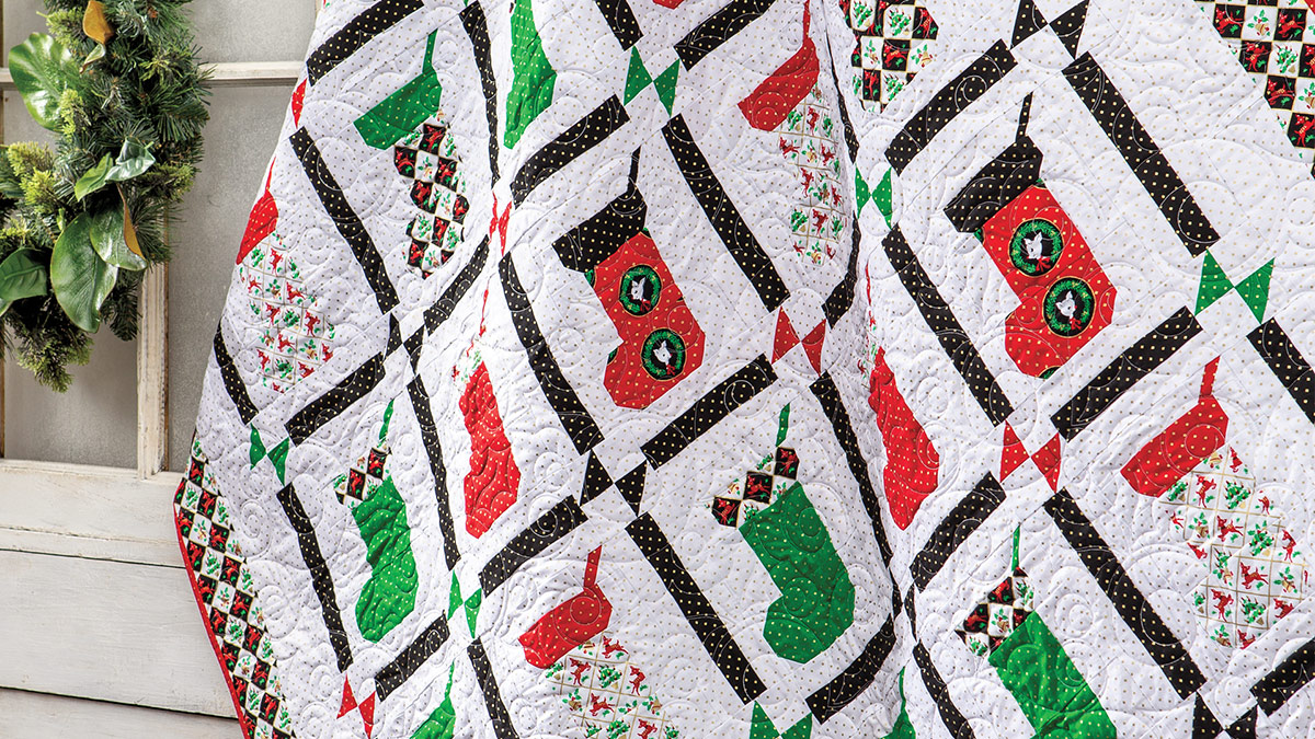 Learn, Make, Create!: Stockings Are Hung Quilt