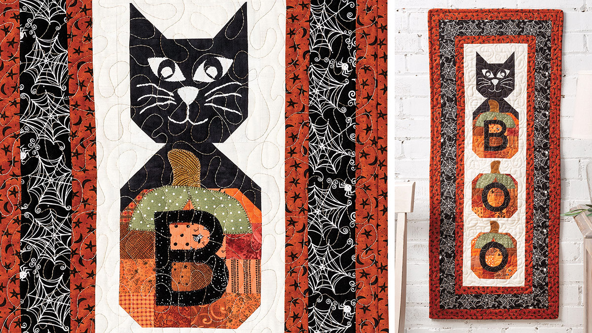 Learn, Make, Create!: Boo! Wall Hanging