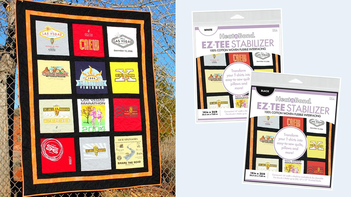 Products We Love: HeatnBond EZ Tee Stabilizer