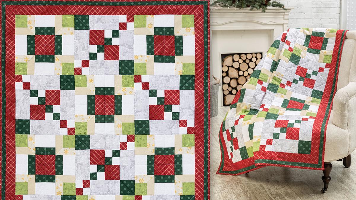 Learn, Make, Create!: Argyle Christmas Quilt