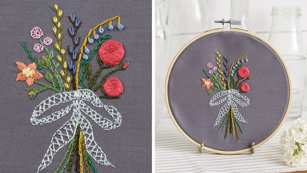 Learn, Make, Create!: Floral Stitch Sampler