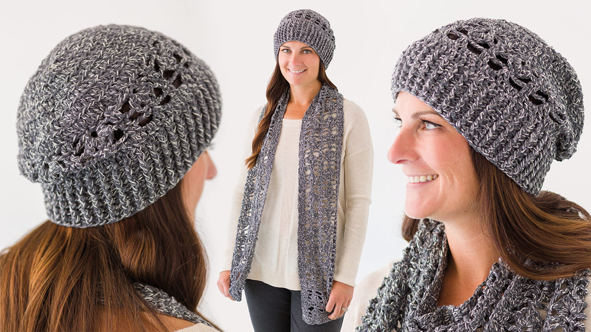 Learn, Make, Create!: Romantic Lace Hat & Scarf