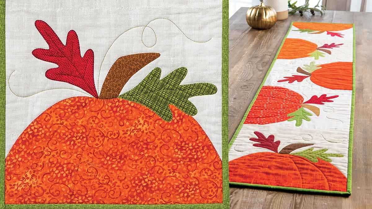 Learn, Make, Create!: In the Pumpkin Patch Runner