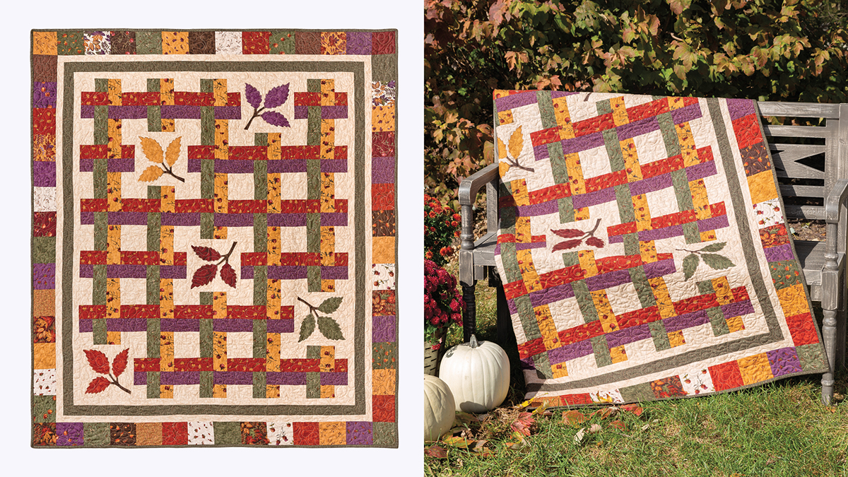 Learn, Make, Create!: Reflections of Fall Quilt