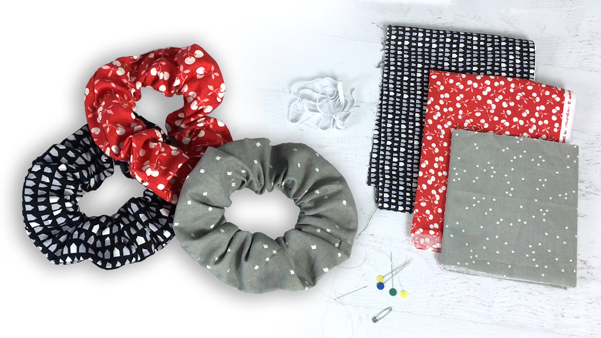 Quilt & Sew Tips: How to Sew a Scrunchie