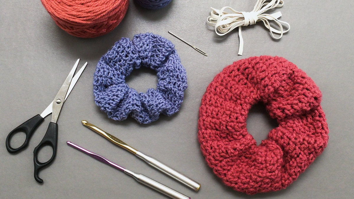 Quick Stitches & Tips: How to Crochet a Scrunchie