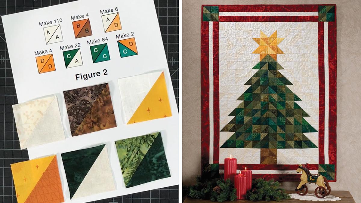 Learn, Make, Create!: Oh, Christmas Tree Wall Hanging