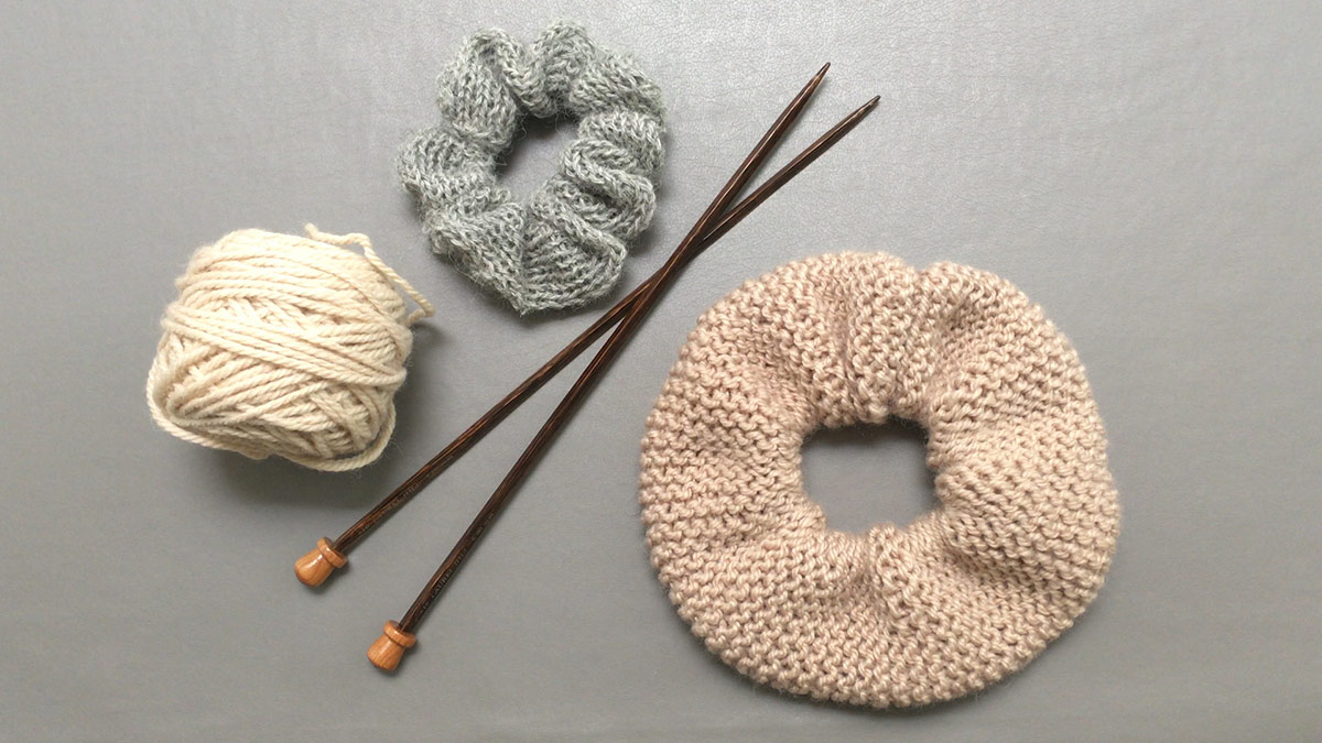 Quick Stitches & Tips: How to Knit a Scrunchie