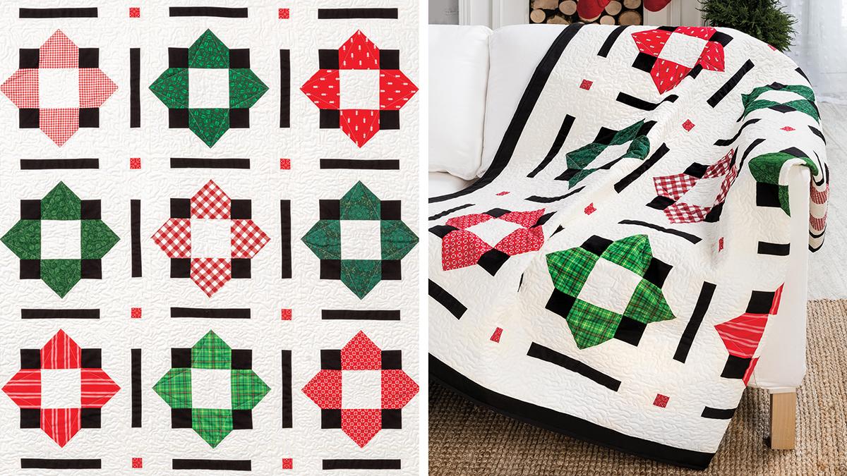 Learn, Make, Create!: Farmhouse Stars Wall Quilt