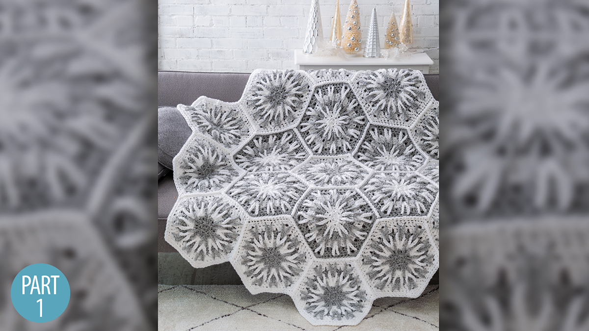 Crochet Skill Builders: Snowy Evening Afghan: Part 1