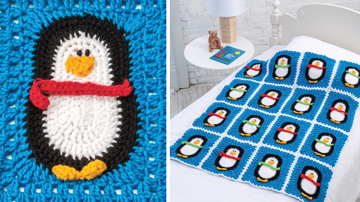 Learn, Make, Create!: Chilly Penguins Blanket