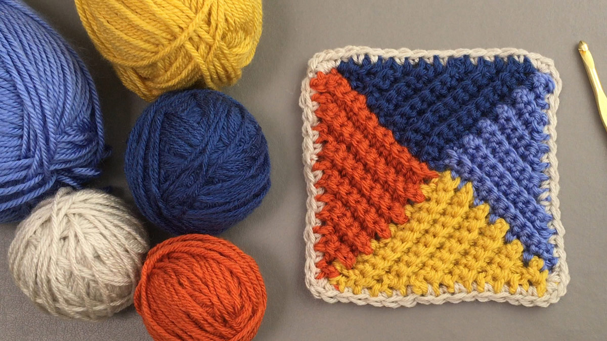 Crochet Skill Builders: Valleys & Hills Stitch