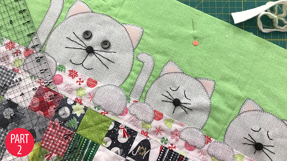Learn, Make, Create!: Purrfectly Comfy Bench Pillow: Part 2