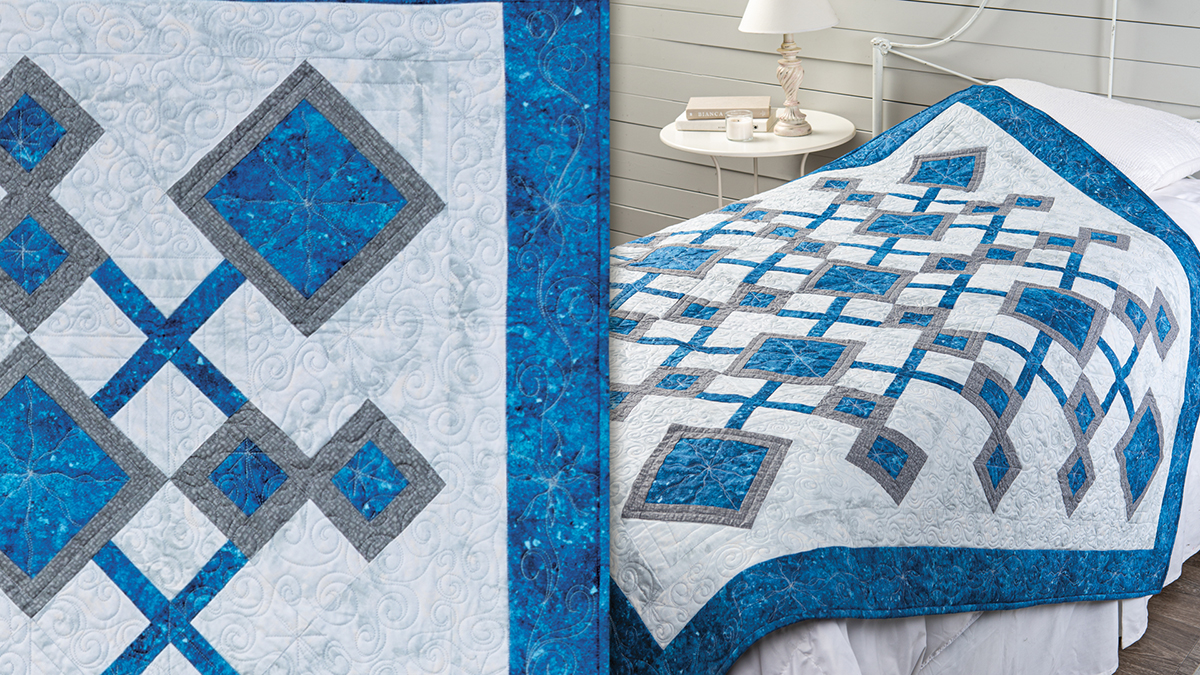 Learn, Make, Create!: Deconstructed Snowflake Quilt