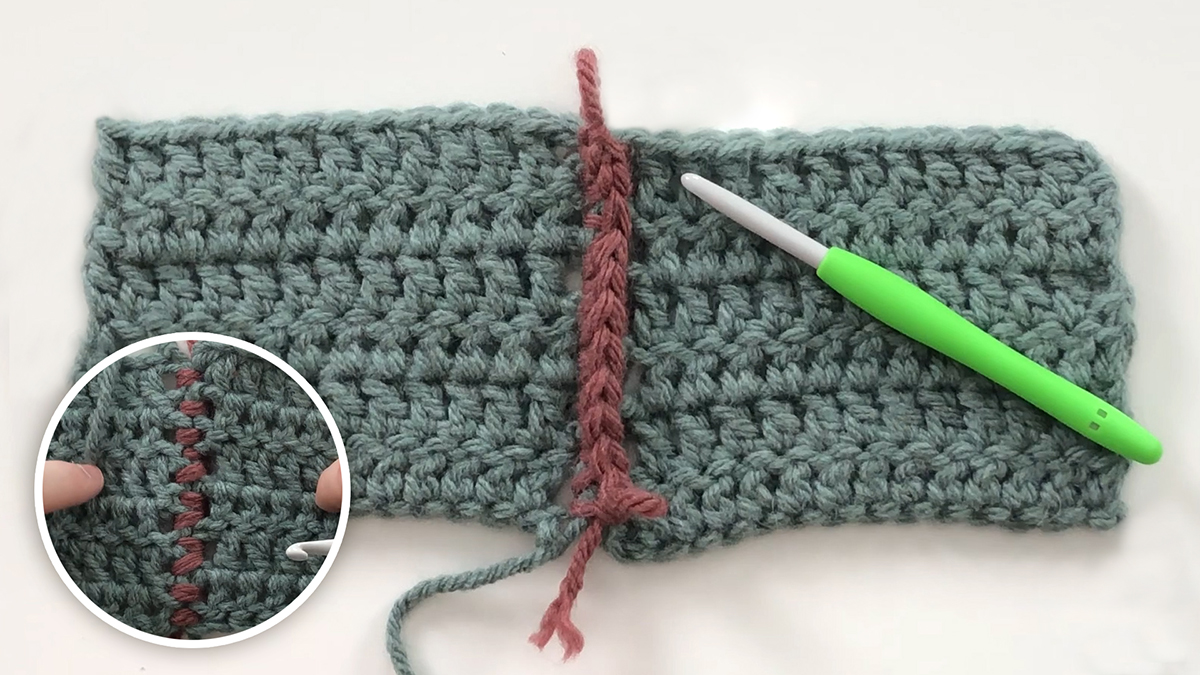 Quick Stitches & Tips: How to Work a Single Crochet Seam