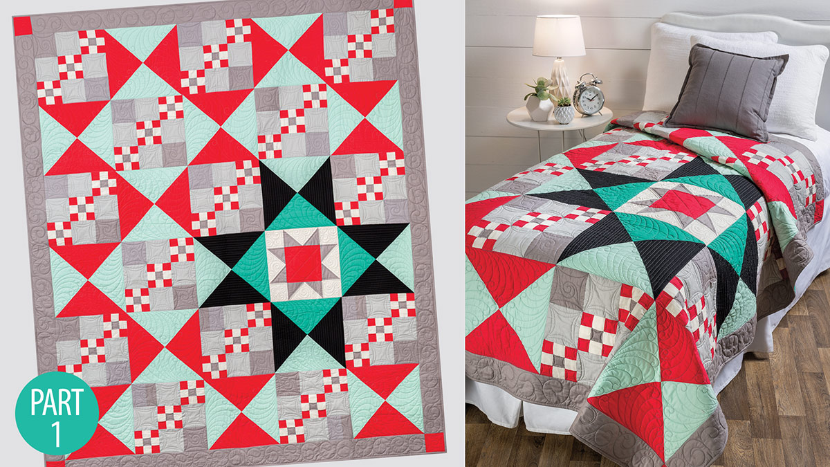 Quilter's Skill Builders: Simple Traditions Quilt: Part 1