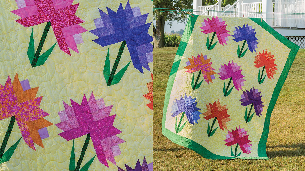 Learn, Make, Create!: Beautiful Bouquets Quilt