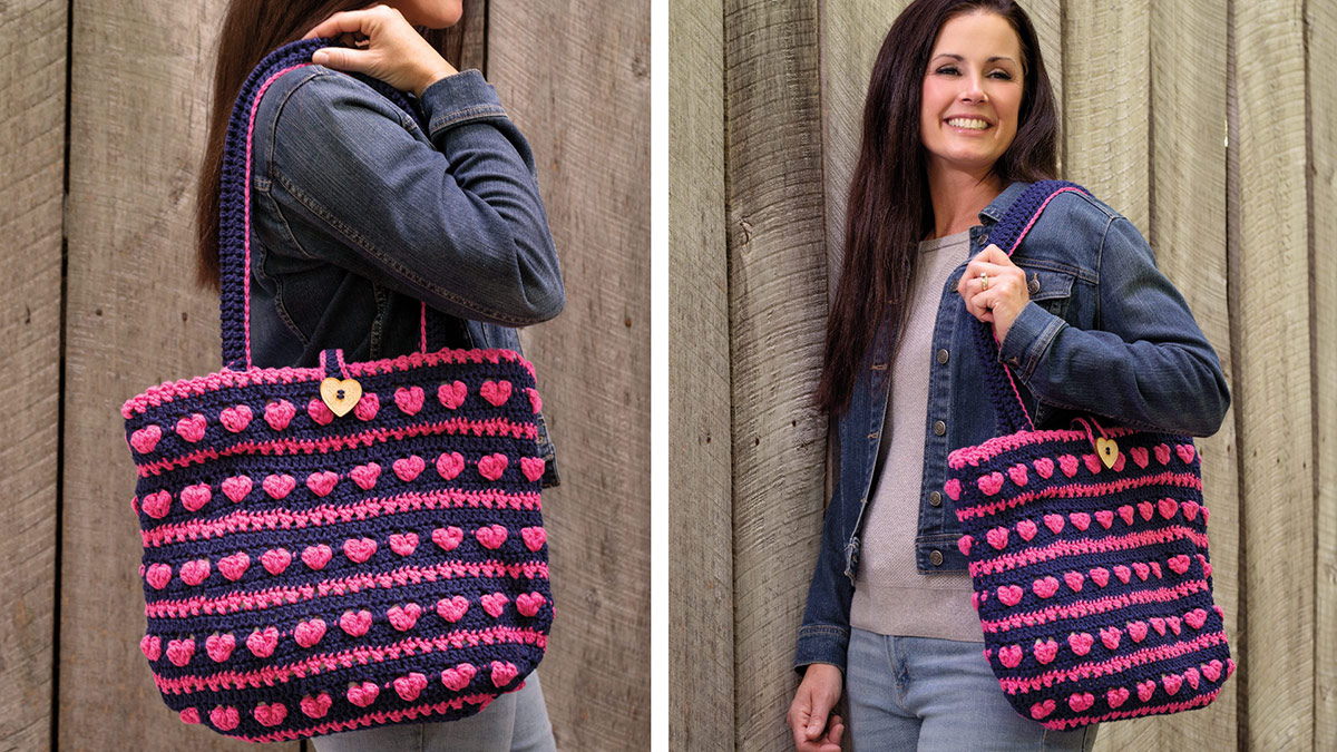 Learn, Make, Create!: Heartbeat Tote