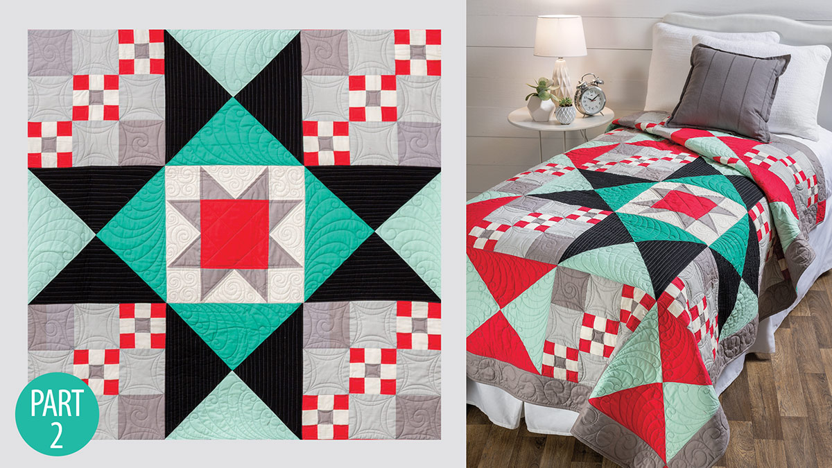 Simple Traditions Quilt: Part 2 video