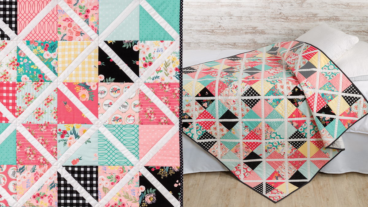 Learn, Make, Create!: Crisscross Throw