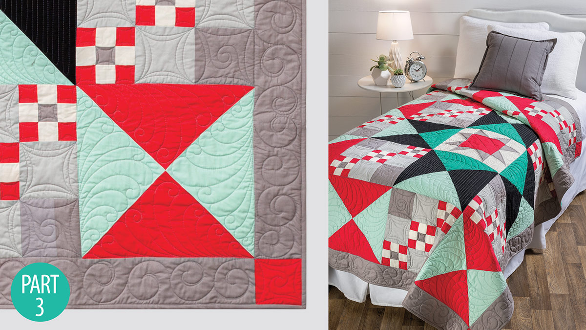 Quilter's Skill Builders: Simple Traditions Quilt: Part 3