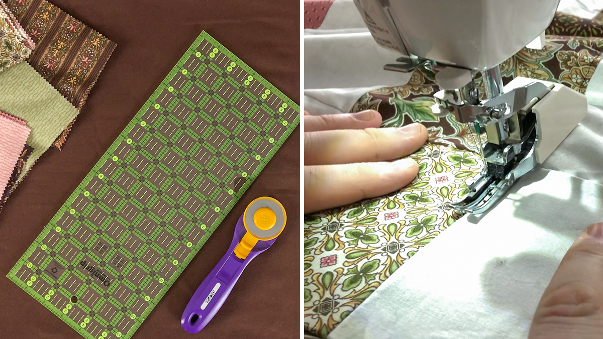 Quilt & Sew Tips: Creative Quilt Backing: Flannel