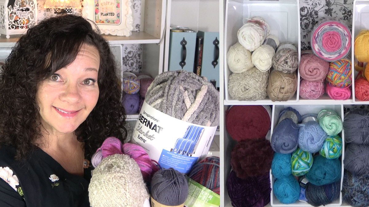 Uncluttered Crafter: Unravel Your Yarn Stash