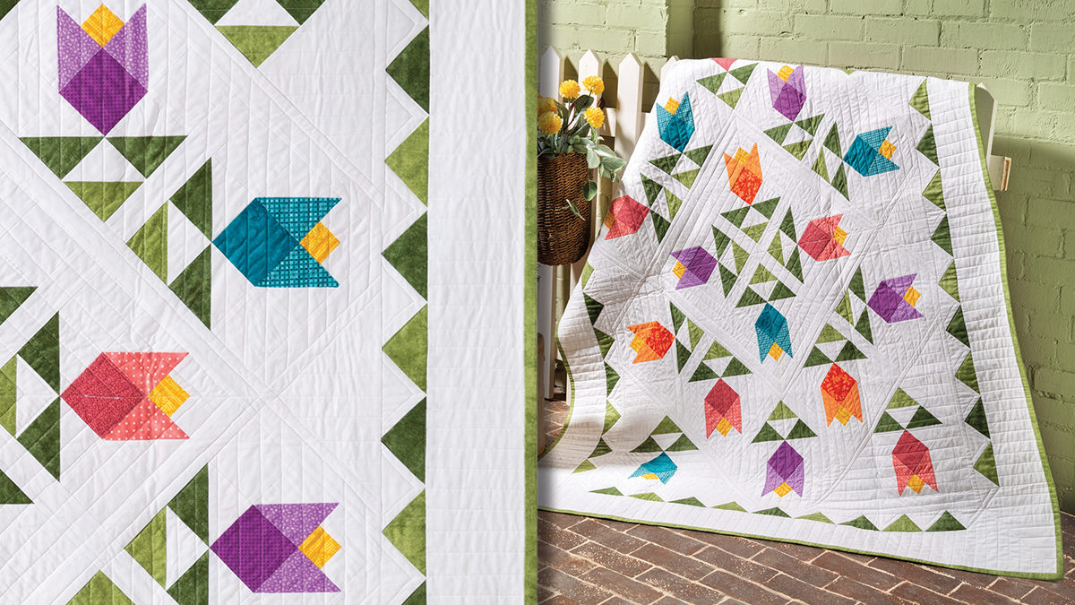 Learn, Make, Create!: Tulip Garden Quilt