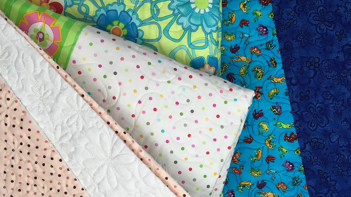 Quilt & Sew Tips: Creative Quilt Backing: Pieced Backing