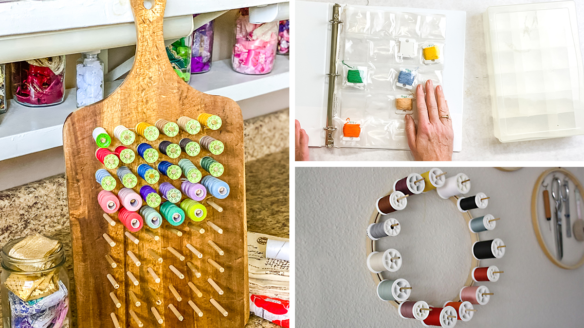 Uncluttered Crafter: Organizing Threads & Bobbins