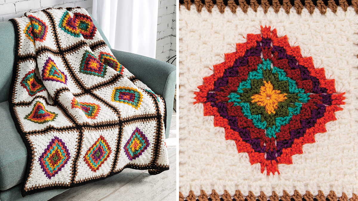 Learn, Make, Create!: Center-to-Corner Afghan