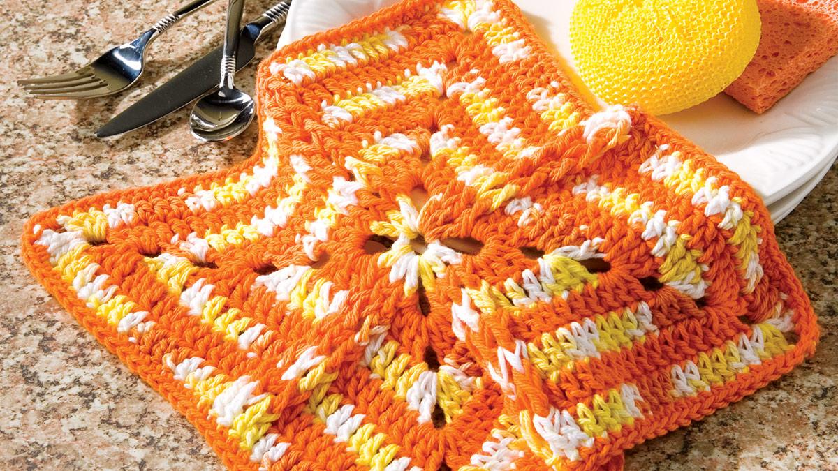 Learn, Make, Create!: Sunshine Dishcloth