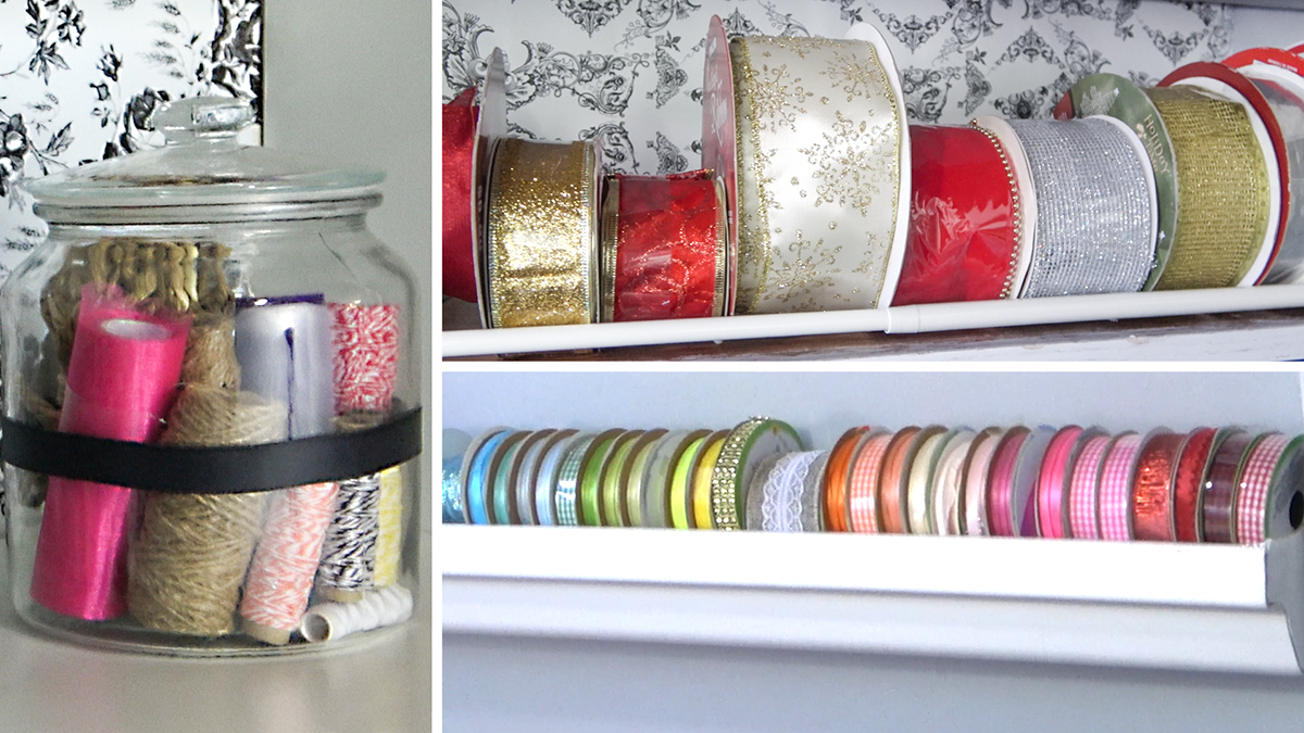 Uncluttered Crafter: Keeping Your Ribbons & Twine at Bay