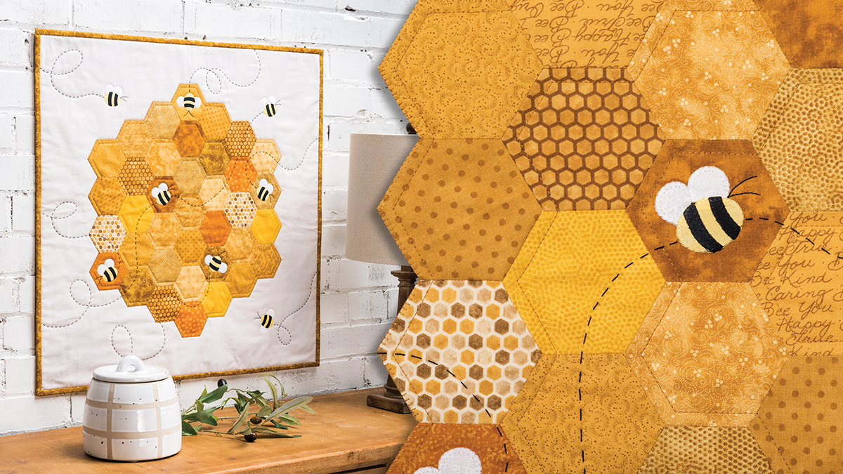 Learn, Make, Create!: Busy Bees Wall Hanging