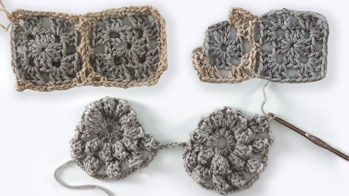 Quick Stitches & Tips: Join As You Go Crochet Blocks