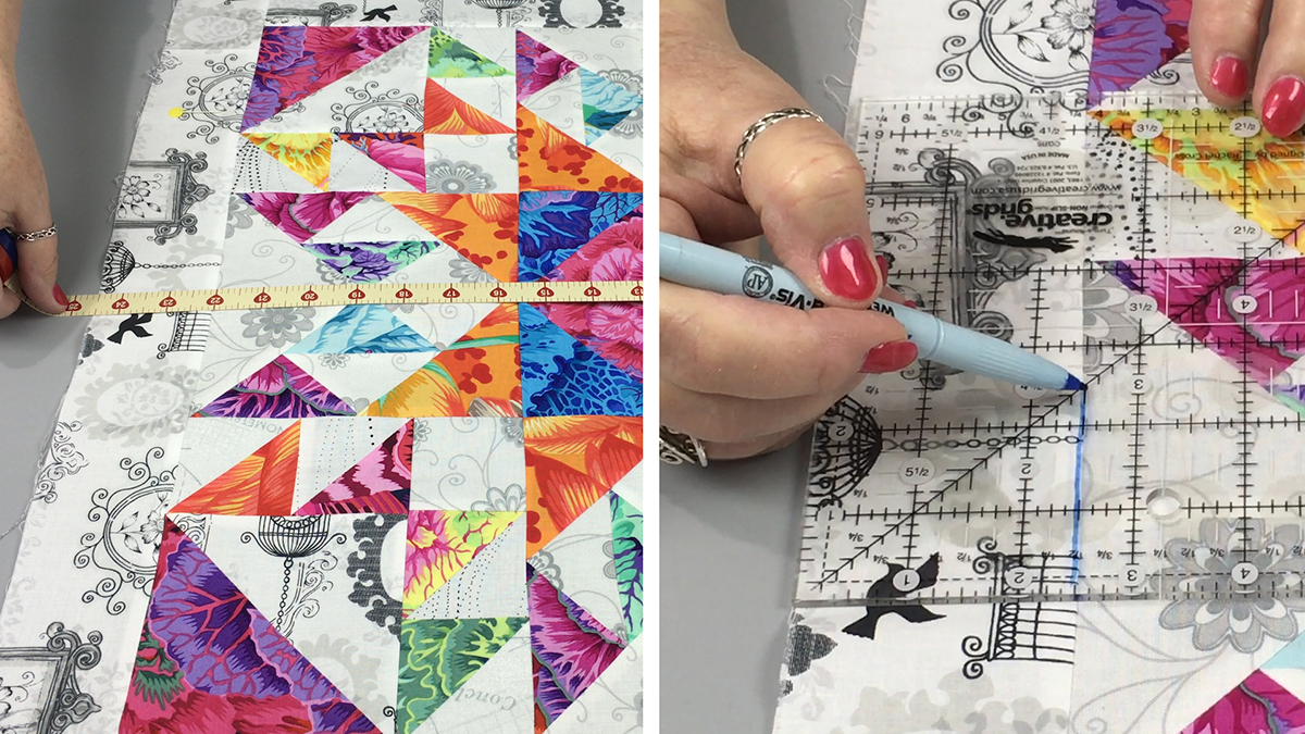 Quilt & Sew Tips: How to Square Up a Quilt
